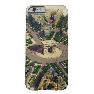 Caso del iPhone 6 de Arco del Triunfo París del Funda Para iPhone 6 Barely There
