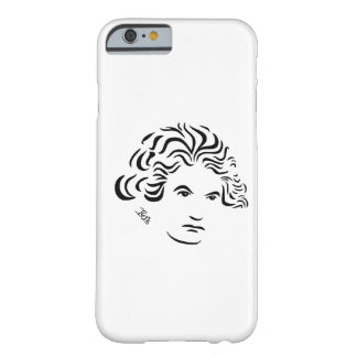 Caso del iPhone 6 de Beethoven Funda Para iPhone 6 Barely There