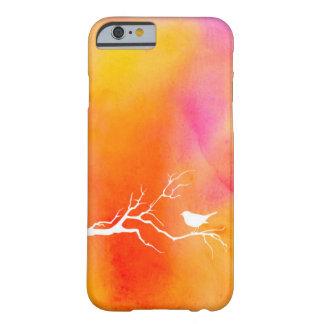 Caso del iPhone 6 de Birdy de la acuarela Funda Para iPhone 6 Barely There