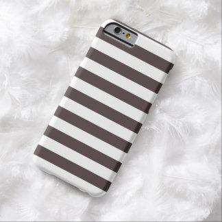 Caso del iPhone 6 de Brown de la carne asada del Funda Barely There iPhone 6