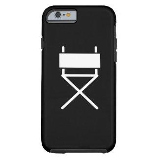 Caso del iPhone 6 de Chair Pictogram de director Funda Para iPhone 6 Tough