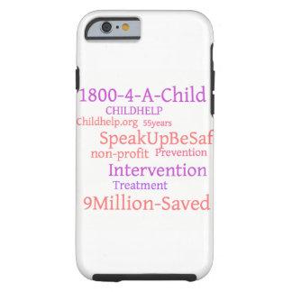 Caso del iphone 6 de Childhelp Funda Resistente iPhone 6
