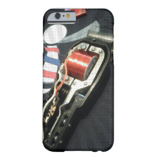 Caso del iPhone 6 de Clippers del pelo del