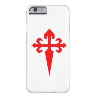 Caso del iPhone 6 de Cruz de Santiago Matamoros Funda Barely There iPhone 6