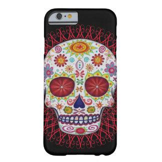 Caso del iPhone 6 de Dia de los Muertos Funda De iPhone 6 Barely There