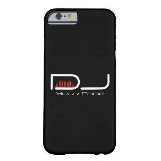 Caso del iPhone 6 de DJ con diseño del equalizador Funda De iPhone 6 Barely There