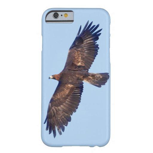 Caso del iPhone 6 de Eagle de oro en vuelo Funda De iPhone 6 Barely There