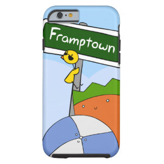 Caso del iPhone 6 de Framptown Funda De iPhone 6 Tough