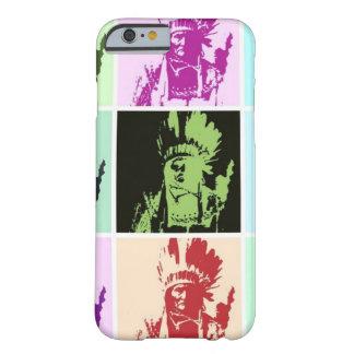 Caso del iPhone 6 de Geronimo del arte pop Funda De iPhone 6 Barely There