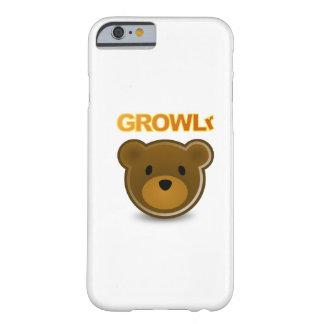Caso del iPhone 6 de GROWLr Funda De iPhone 6 Barely There