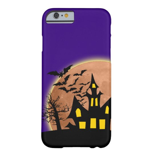 Caso del iPhone 6 de Halloween Funda Barely There iPhone 6