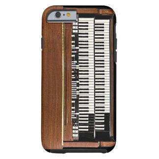 Caso del iPhone 6 de Hammond organ del vintage Funda De iPhone 6 Tough