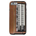 Caso del iPhone 6 de Hammond organ del vintage Funda Resistente iPhone 6
