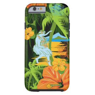 Caso del iPhone 6 de Hawaii de la hawaiana Funda Para iPhone 6 Tough