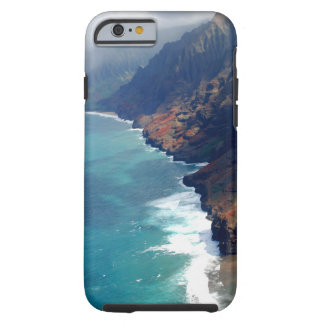 Caso del iPhone 6 de Hawaii Kauai - costa del Na Funda De iPhone 6 Tough