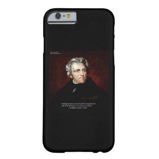 Caso del iPhone 6 de James K Polk de Rick Londres Funda De iPhone 6 Barely There