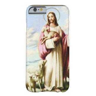 Caso del iPhone 6 de Jesús y de las ovejas Funda De iPhone 6 Barely There