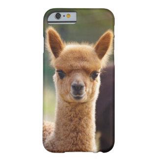 Caso del iPhone 6 de la alpaca Funda Barely There iPhone 6