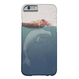 Caso del iPhone 6 de la ballena Funda Barely There iPhone 6
