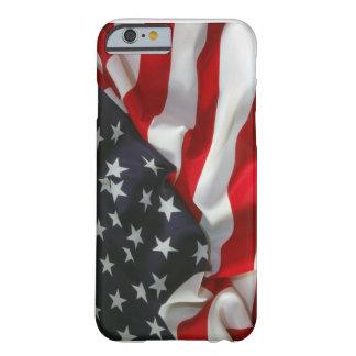 Caso del iPhone 6 de la bandera americana Funda De iPhone 6 Barely There