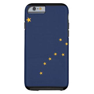Caso del iPhone 6 de la bandera de Alaska Funda De iPhone 6 Tough