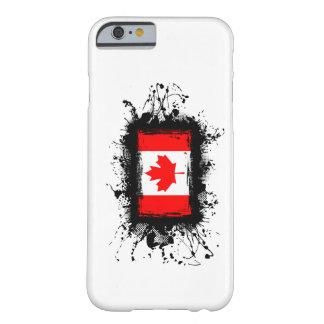 Caso del iPhone 6 de la bandera de Canadá Funda De iPhone 6 Barely There
