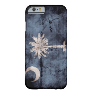 Caso del iPhone 6 de la bandera de Carolina del Funda De iPhone 6 Barely There