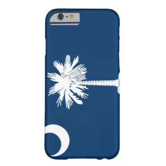 Caso del iPhone 6 de la bandera de Carolina del Funda De iPhone 6 Slim