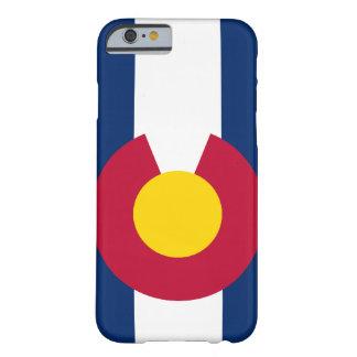 Caso del iPhone 6 de la bandera de Colorado Funda Barely There iPhone 6