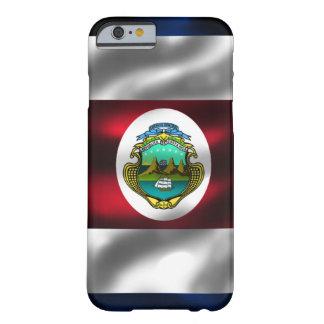 Caso del iPhone 6 de la bandera de Costa Rica Funda De iPhone 6 Barely There