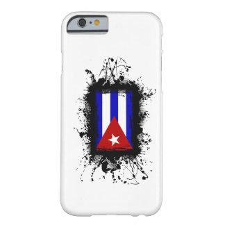 Caso del iPhone 6 de la bandera de Cuba Funda Para iPhone 6 Barely There