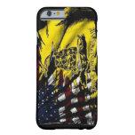 Caso del iPhone 6 de la bandera de Gadsden Funda De iPhone 6 Barely There