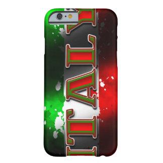 Caso del iPhone 6 de la bandera de Italia Funda De iPhone 6 Slim