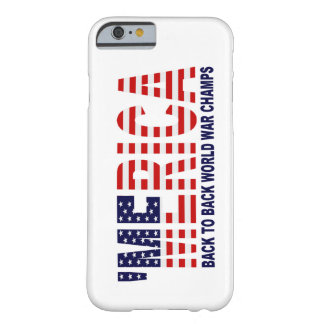 'Caso del iPhone 6 de la bandera de los E.E.U.U. Funda Para iPhone 6 Barely There