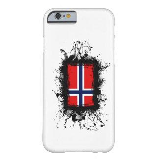 Caso del iPhone 6 de la bandera de Noruega Funda De iPhone 6 Barely There