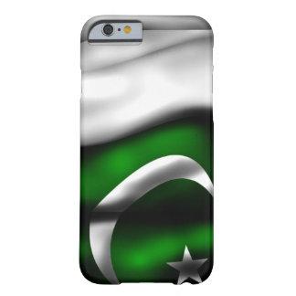 Caso del iPhone 6 de la bandera de Paquistán Funda Para iPhone 6 Barely There