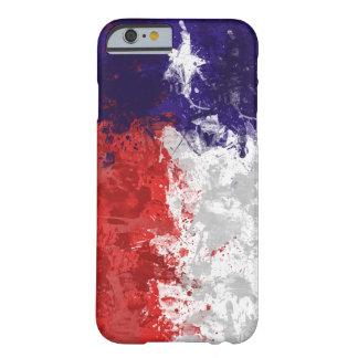 Caso del iPhone 6 de la bandera de Tejas Funda De iPhone 6 Barely There