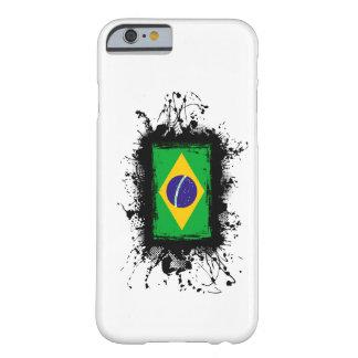Caso del iPhone 6 de la bandera del Brasil Funda De iPhone 6 Barely There