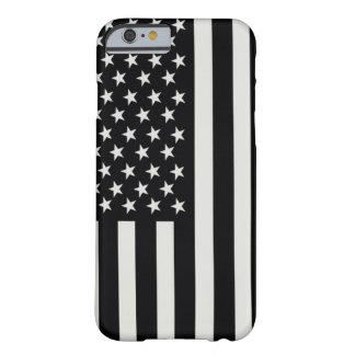 Caso del iPhone 6 de la bandera del IR Funda Barely There iPhone 6