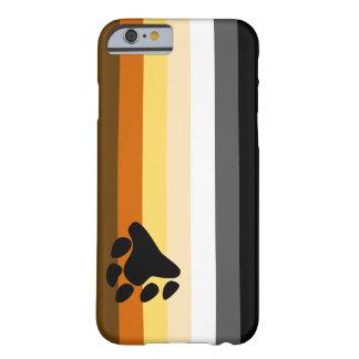 Caso del iPhone 6 de la bandera del oso