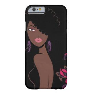 Caso del iPhone 6 de la belleza de Afrocentric Funda Para iPhone 6 Barely There