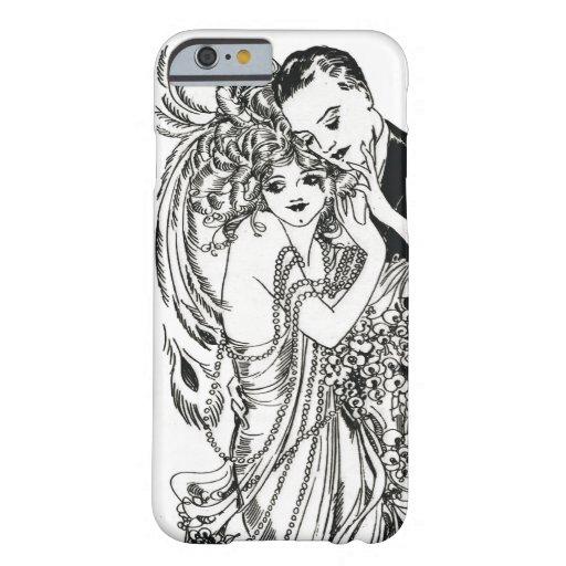 caso del iPhone 6 de la belleza de la aleta de los Funda Para iPhone 6 Barely There