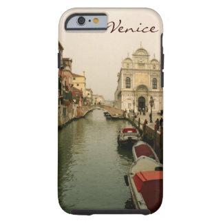 Caso del iPhone 6 de la caja del canal de Venecia