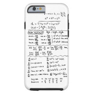 Caso del iPhone 6 de la chuleta de las ecuaciones