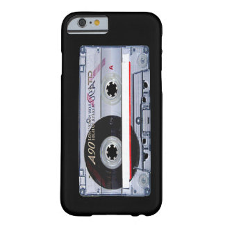 Caso del iPhone 6 de la cinta de casete audio