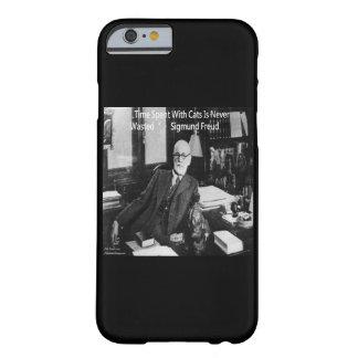 Caso del iPhone 6 de la cita de Sigmund Freud y Funda Barely There iPhone 6