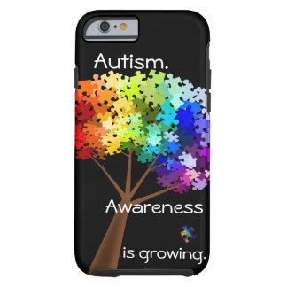 Caso del iPhone 6 de la conciencia del autismo Funda De iPhone 6 Tough