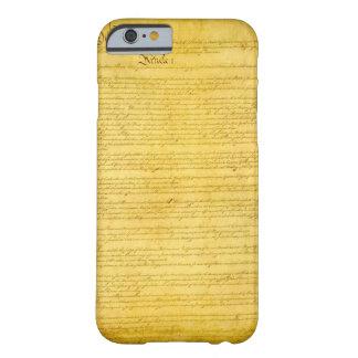 Caso del iPhone 6 de la constitución Funda De iPhone 6 Slim
