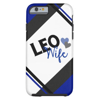 Caso del iPhone 6 de la esposa de LEO Funda Para iPhone 6 Tough