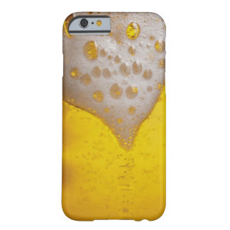 Caso del iPhone 6 de la espuma de la cerveza Funda De iPhone 6 Barely There